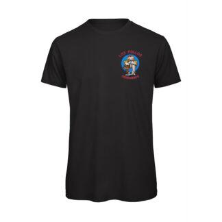 T-shirt Uomo Nera Los Pollos Ermanos SerieTV Breaking Bad