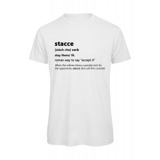T-shirt Uomo Bianca Stacce