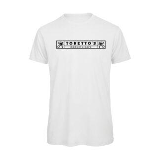 Fast-Furious-TORETTO-Market-Cafe-insegna-T-shirt-bianca-uomo