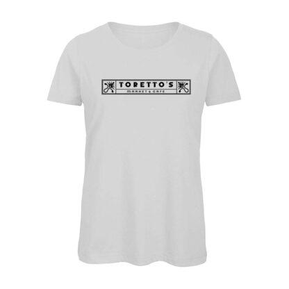 Fast-Furious-TORETTO-Market-Cafe-insegnaT-shirt-bianca-donna