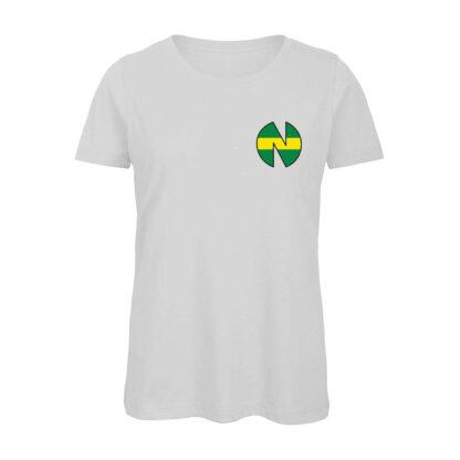 Holly-e-Benji-NEW-TEAM-T-shirt-donna-bianca