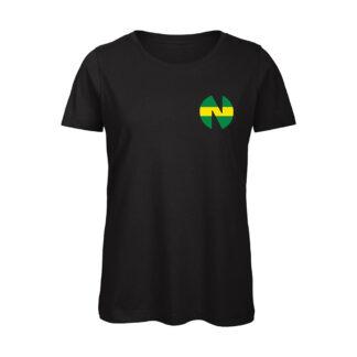 Holly-e-Benji-NEW-TEAM-T-shirt-donna-nera
