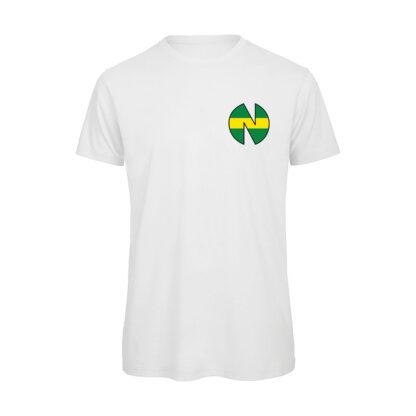 Holly-e-Benji-NEW-TEAM-T-shirt-uomo-bianca
