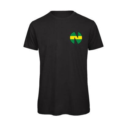 Holly-e-Benji-NEW-TEAM-T-shirt-uomo-nera