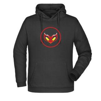 Streami-Logo-Felpa-cappuccio-nera